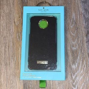 NWT Kate Spade Wrap Case for Moto Z Droid Edition